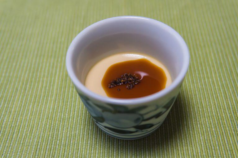 蕎麦茶プリン