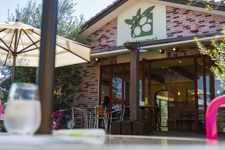 江田島オリーブオイルファクトリーのレストラン
