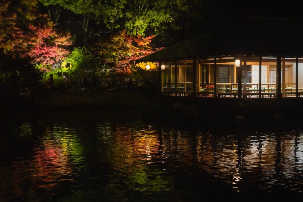 三景園ー夜撮影7