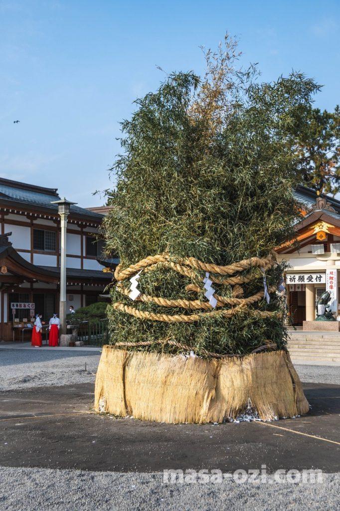 護国神社-とんど祭り-昼撮影その2