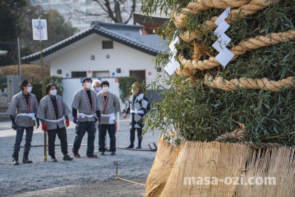 護国神社-とんど祭り-昼撮影その3