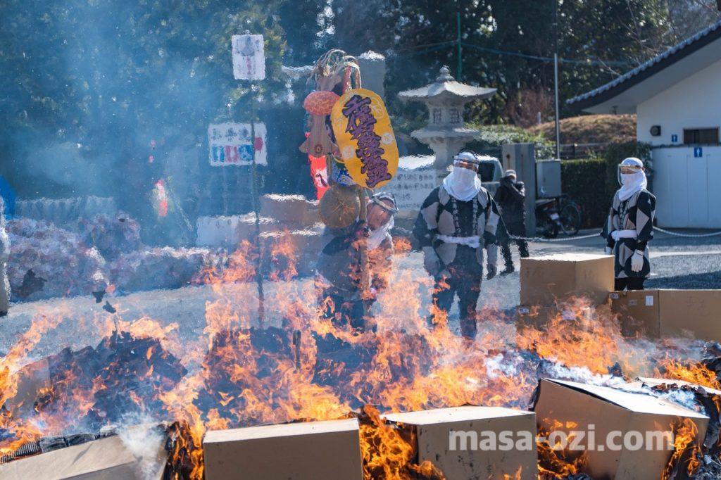 護国神社-とんど祭り-昼撮影その16