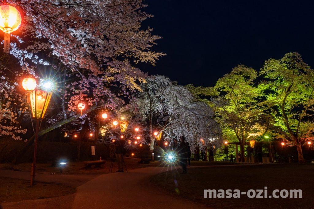 三次市-尾関山公園-夜撮影その2