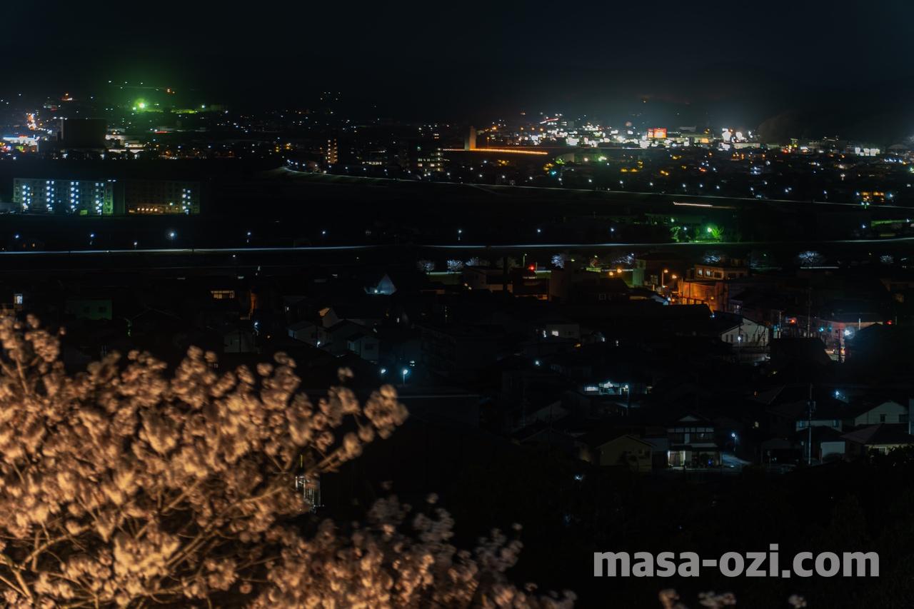 三次市-尾関山公園-夜撮影その8