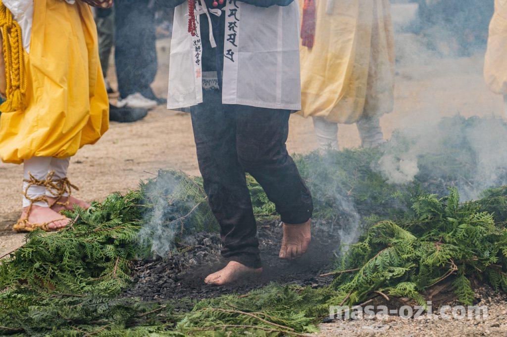 宮島-大聖院-火渡り神事-昼撮影その38